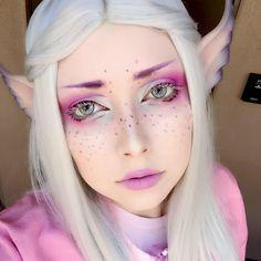 Bildergebnis für fantasy make-up - Makeup Elf Cosplay, Cosplay Makeup, Costume Makeup, Art Costume, Makeup Fx, Makeup Tips, Beauty Makeup, Drugstore Makeup, Exotic Makeup