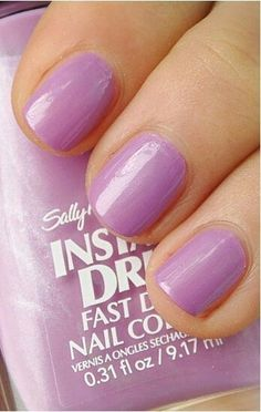 Stamping polish; Sally Hansen Lively Lilac