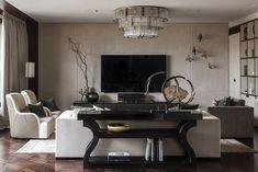 Изысканная современная квартира с потрясающей террасой в Москве   Пуфик - блог о дизайне интерьера