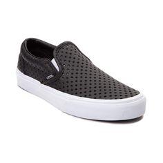 Vans Slip-On Star Perforated Skate Shoes. Love the little stars!! Tenis 151758007