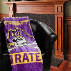 "East Carolina Pirates 50"" x 60"" Label Plush Blanket - $34.99"