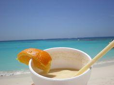 Cocktail on the beach!