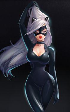 ArtStation - Catwoman, Julia Kovalyova