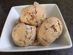 Perfectly creamy, butter pecan ice cream with toasted pecans!  Hold the onion: Butter Pecan Ice Cream