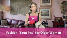 When I interviewed fashion expert, Melanie Payge, for our fashion for women over 60 video series, I was shocked to find out that I was committing several serious fashion faux pas. Not only was I drawing attention away from my best assets, but, I was actually making some of the challenges that us older women face even worse. Here are the top 6 fashion faux pas that women our age make and some advice on how to fix them.Read More