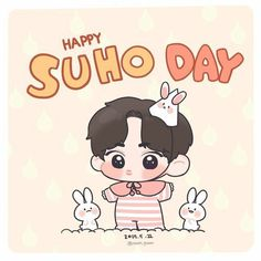 Suho <credits to owner> Exo Cartoon, Cartoon Drawings, Suho Exo, Exo Stickers, 5 Years With Exo, Exo Fan Art, Fanarts Anime, Wattpad, Art Poses