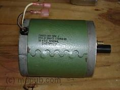 How to Build an Electricity Producing Wind Turbine > A DC motor to be used as a generator in a wind turbine