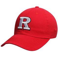 366d6d4dffb33 Men s Top of the World Scarlet Rutgers Scarlet Knights Solid Crew  Adjustable Hat
