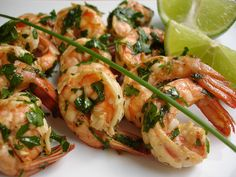 Garlic Lime Shrimp by technicolorkitcheninenglish #Shrimp #Garlic #Lime