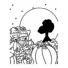 It's the Great Pumpkin, Charlie Brown coloring page