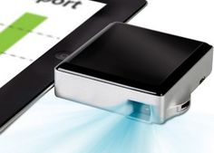 iThis Gadget Turns Your iPad Into A Projector #iPad #projector #pocketipadprojector