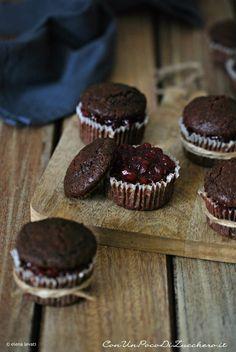 muffin al grano saraceno e cioccolato Biscotti, Good Food, Yummy Food, Most Delicious Recipe, Muffin, I Foods, Sweet Recipes, Food Photography, Food Porn