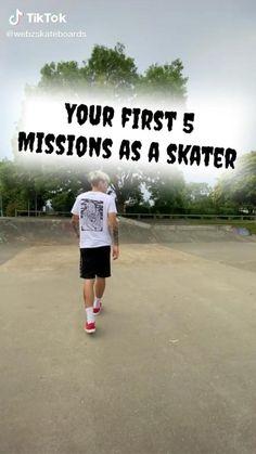 Beginner Skateboard, Skateboard Videos, Penny Skateboard, Skateboard Design, Skateboard Girl, How To Skateboard, Swag Style, Zapatillas Jordan Retro, Skater Girl Outfits