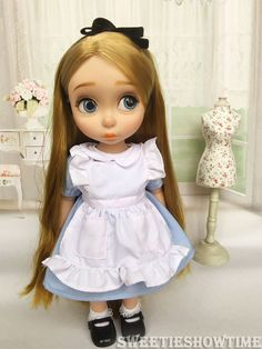 Disney Baby Doll Clothes Alice Dress Clothing Animator'S Collection Princess 2 | eBay