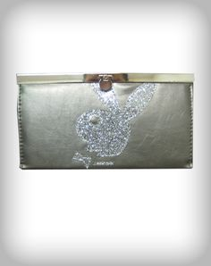 Playboy Bunny Head Flip Lock Wallet