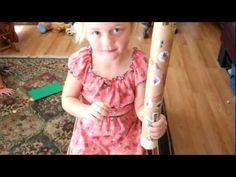 Play around the globe -- Child Friendly Rain Stick