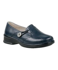 This Navy Adelaide Leather Loafer by Propét is perfect! #zulilyfinds