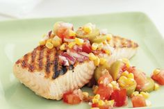Fish Filet With Tomato Salsa | STONE WAVE RECIPES