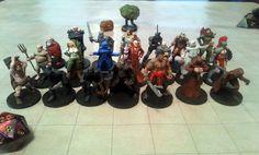 Alle Miniaturen aus Dungeons and Dragons aus dem 3d Printer Designs, 3d Printer Projects, 3d Prints, Canvas Art Prints, Dungeons And Dragons Miniatures, Dragon Miniatures, Fantasy Miniatures, 3d Art, African Artwork