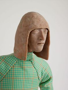 Sculpture by Francis Upritchard  via Kate MacGarry Gallery