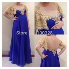Find More Prom Dresses Information about Custom Made Floor Length Short Sleeve Scoop Neckline Appliques Backless A Line Pregnant Women Prom Dress 2015 Vestido De Festa,High Quality prom dresses united states,China prom dress dark green Suppliers, Cheap dress care from Rose Wedding Dress Co., Ltd on Aliexpress.com