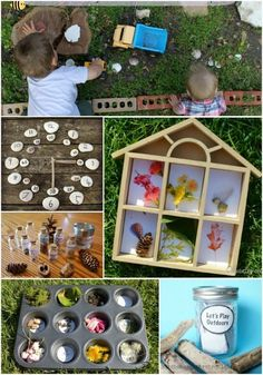 50 creative ideas for nature learning and outdoor play in the backyard this Spring!