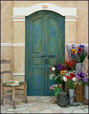 Alan Klug Photography- exterior color scheme w/ accent color