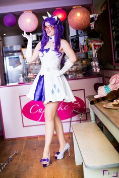 Rarity at your service! by LuceCosplay.deviantart.com on @DeviantArt
