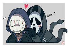 Horror Movies Funny, Horror Movie Characters, Scary Movies, Anime Zodiac, Fanart, Ghost Faces, Marvel, Art Memes, Creepy Cute