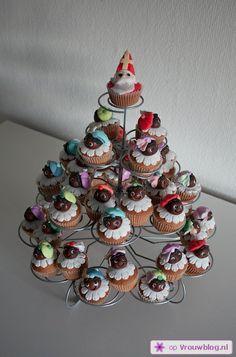 :)) -Sinterklaas-cupcakes-versieren-