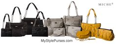 Miche September 2013 Collection Sneak Peek from MyStylePurses.com    #Miche #MicheBags #purses #handbags
