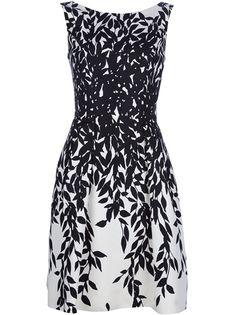 Blumarine Silk Printed Dress - Russo Capri - farfetch.com