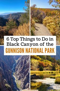 Plan your visit to this Colorado National Park gem from hiking to camping to photographing the painted wall rock formations along the impressive South Rim of Black Canyon.