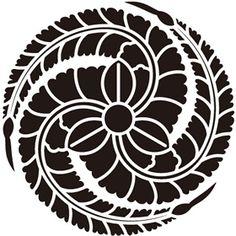 黒田官兵衛の家紋「藤巴紋」