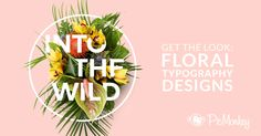 Learn how to create a floral typography effect and intertwined your text through flowers with this quick tutorial.