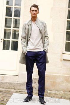 Gustavo Lins Menswear Spring Summer 2013 Paris