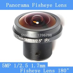 11.30$  Watch now - http://aliud3.shopchina.info/go.php?t=32714295821 - CCTV lenses 5MP 1/2.5 HD 1.7mm fisheye panoramic surveillance camera 180 degrees wide-angle infrared lens M12 lens thread  #aliexpress