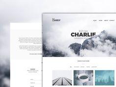Charlie - PSD Template by Prashant Dwivedi