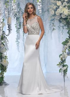 7f72a772c2cf9 25 Best Crop Top Wedding Dresses images