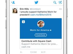$Cashtag: Now You Can Send Political Donations Through Twitter