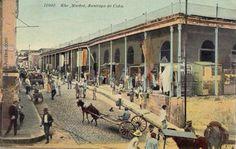 The market in Santiago de Cuba.