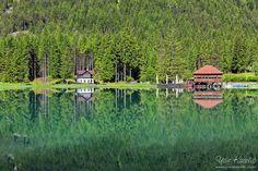 Lake Dobbiaco, Dolomities