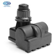 1.5V Black Plastic BBQ Spark Generator 5 Outlet AA Push Button Ignitor Igniter Gas Grill Home Appliance Parts