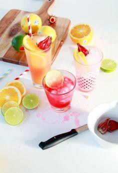 3 Rosella & Vodka Cocktails - See the full recipes at www.highwallsblog.com