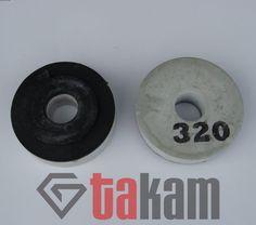 Kamienie szlifierskie okrągłe śr. 100 mm - magnezytowe, prosty bok