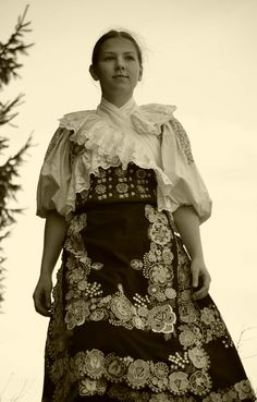 hrinovske lazy pod Polanou, Slovensko Folk Costume, Costumes, Heart Of Europe, Europe Fashion, Anton, Old Pictures, Folklore, Traditional Outfits, Dna