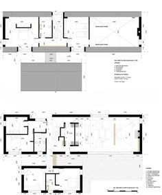 New Family house overlooking the sea. Planning received May 2015 Cottage Extension, Cottage Floor Plans, Long House, Farmhouse Renovation, Rural House, Best House Plans, Architect House, New Home Designs, Architecture Plan