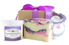 Bath Gift Set Christmas gift for wife Gift for by AromaScentsLLC