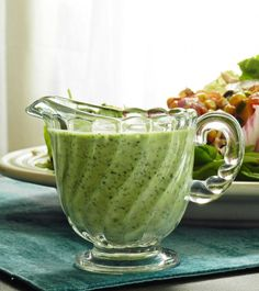 1 bunch fresh cilantro 1/2 cup mayonnaise 1/4 cup olive oil 2 Tablespoons fresh lime juice 2 cloves fresh garlic 1 teaspoon apple cider vine...