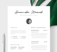 """· Stand out with this Modern Resume Template, CV Template """"Siena"""". Welcome to the Resume Angels, I'm here to help you invest in the most important document you will ever own! Use my knowledge & design…More Modern Resume Template, Cv Template, Resume Templates, Free Business Card Templates, Free Business Cards, Cover Letter Template, Letter Templates, Cv Simple, Cv Inspiration"""